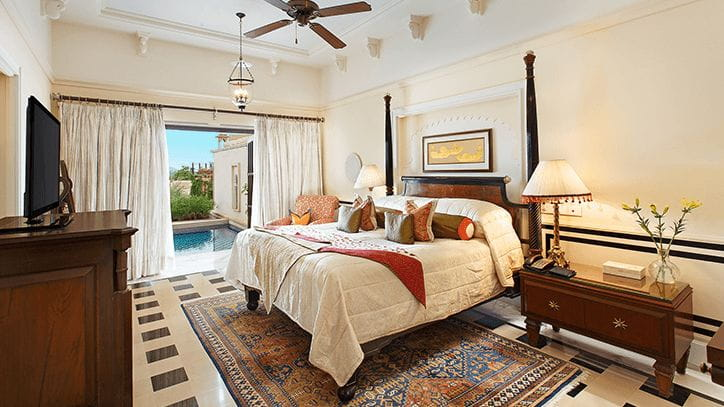 Luxury Suite with Private Pool at 5 Star Resort in Udaipur at The Oberoi Udaivilas