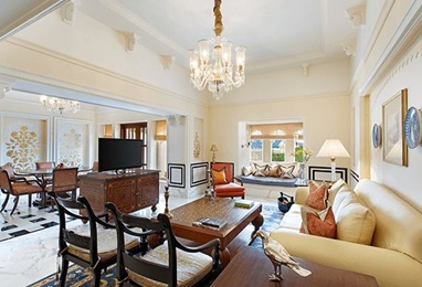 Udaivilas - Luxury Suite Drawing Room