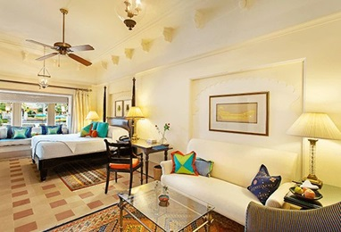 Premier Rooms with Pool View at 5 Star Luxury Resort The Oberoi Udaivilas Udaipur