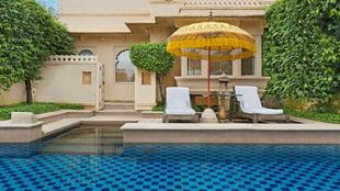 Premier Room With Semi Private Pool at 5 Star Resort The Oberoi Udaivilas Udaipur