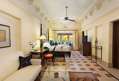 Premier Room With Semi Private Pool at The Oberoi Udaivilas Udaipur