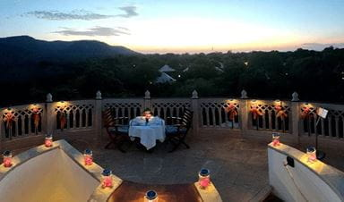 Dine Under the Stars Experience at The Oberoi Vanyavilas Ranthambhore