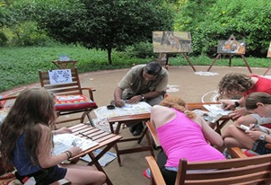 Art Walk Experience at The Oberoi Vanyavilas Ranthambhore