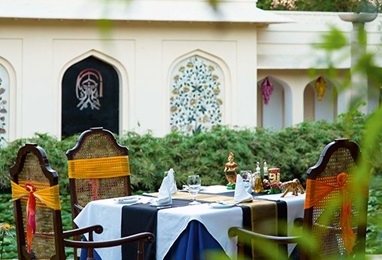 Breakfast From Farm to Fork Experience at The Oberoi Vanyavilas Ranthambhore