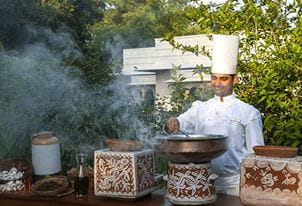 Cook with the Masters Experience at The Oberoi Vanyavilas Ranthambhore