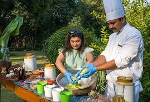 Pickles and more Experience at The Oberoi Vanyavilas Ranthambhore