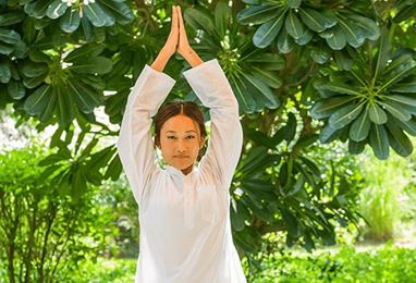 Private Yoga Session Experience at The Oberoi Vanyavilas Ranthambhore