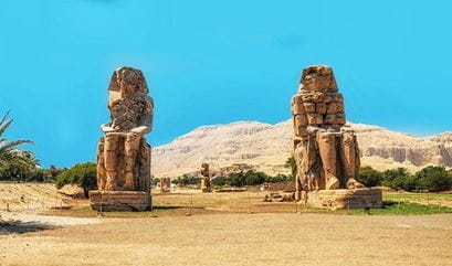 Philae Nile The Colossi of Memnon, Zahra
