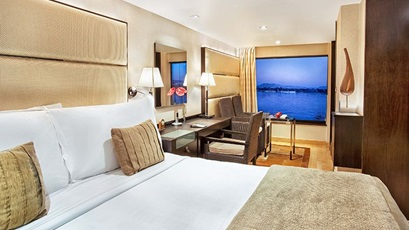 Luxury Cabins at The Oberoi Zahra Luxury Nile Cruiser
