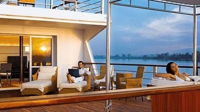 Luxury Suites at The Oberoi Zahra Luxury Nile Cruiser