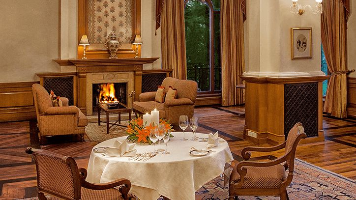 Lutyens Hall at The Oberoi Wildflower Hall Shimla