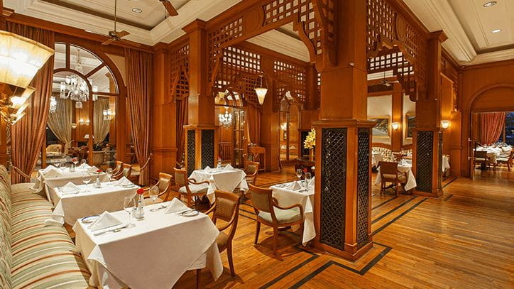 The Restaurant at The Oberoi Wildflower Hall Shimla