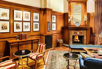 The Cavalry Bar at The Oberoi Wildflower Hall Shimla
