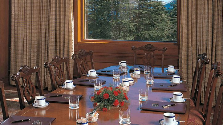 Meeting Rooms at The Oberoi Wildflower Hall Shimla