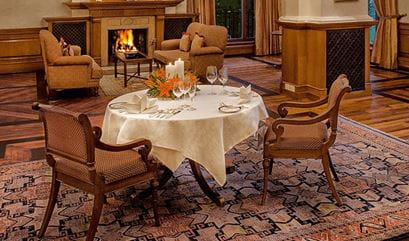 Private Dining Experience at The Oberoi Wildflower Hall Shimla