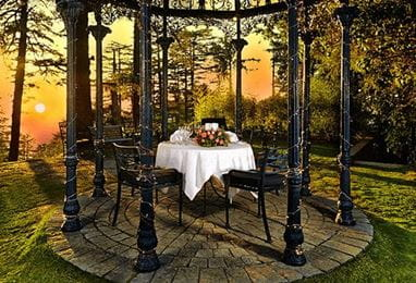 Dinner at the Gazebo