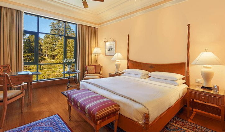 Extended Stay Rate Offer at 5 Star Resort The Oberoi Wildflower Hall Shimla