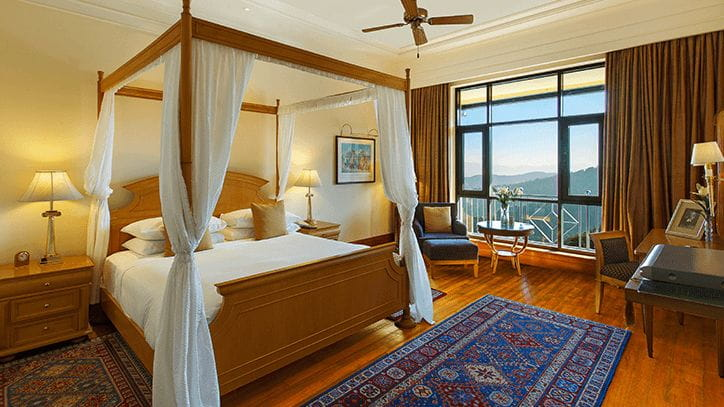 Lord Kitchener Suites at 5 Star Hotel in Shimla The Oberoi Wildflower Hall Shimla