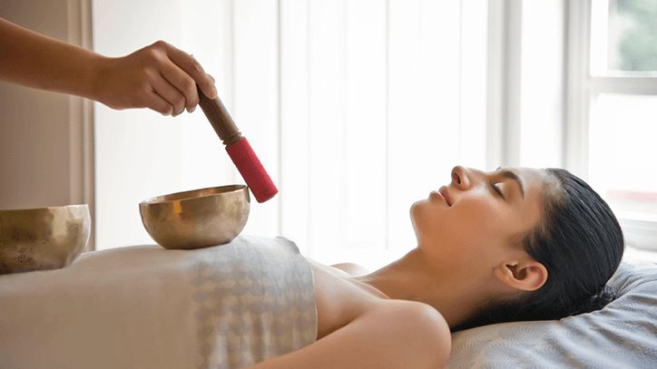 Energy Balancing with Himalayan Singing Bowl at The Oberoi Wildflower Hall Shimla