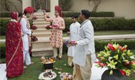 Hindu Renewal of Vows Ceremony at The Oberoi, Amarvilas