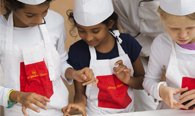 Junior Chef Classes at The Oberoi, Amarvilas