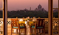 Private Dinner in Room Balcony at The Oberoi, Amarvilas