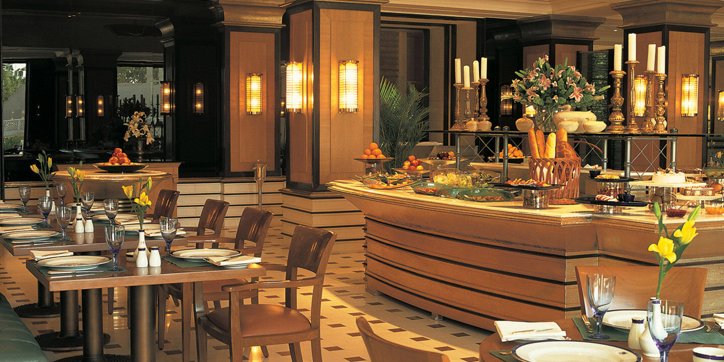 Bellevue - An Indian and Continental Cuisine Restaurant at The Oberoi Amarvilas, Agra