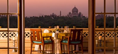 Private Terrace Dinner at the Oberoi, Amarvilas