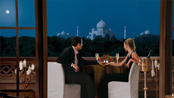 Unparalleled Views to the Tajmahal from The Oberoi Amarvilas, Agra