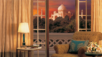 Magnificant Views of the Tajmahal From The Oberoi Amarvilas, Agra