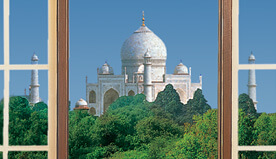 Tajmahal View from The Oberoi Amarvilas, Agra