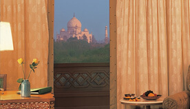 Breathtaking Views of the Tajmahal At the Oberoi Amarvilas, Agra