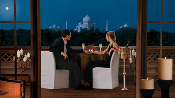 Exotic Honeymoon at The Oberoi, Amarvilas