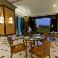 360° View of The Bellevue Restaurant at The Oberoi Amarvilas, Agra