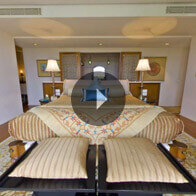 360° View of The Kohinoor Suite Bedroom At The Oberoi Amarvilas, Agra