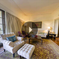 360° View of The Luxury Suite living room At The Oberoi Amarvilas, Agra