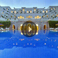 360° View of The Swiming Pool At Oberoi Amarvilas, Agra