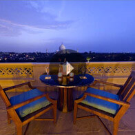 360° View of The Romantic Private Dining Place At The Oberoi Amarvilas, Agra