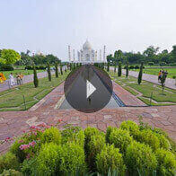 360° View of The Tajmahal