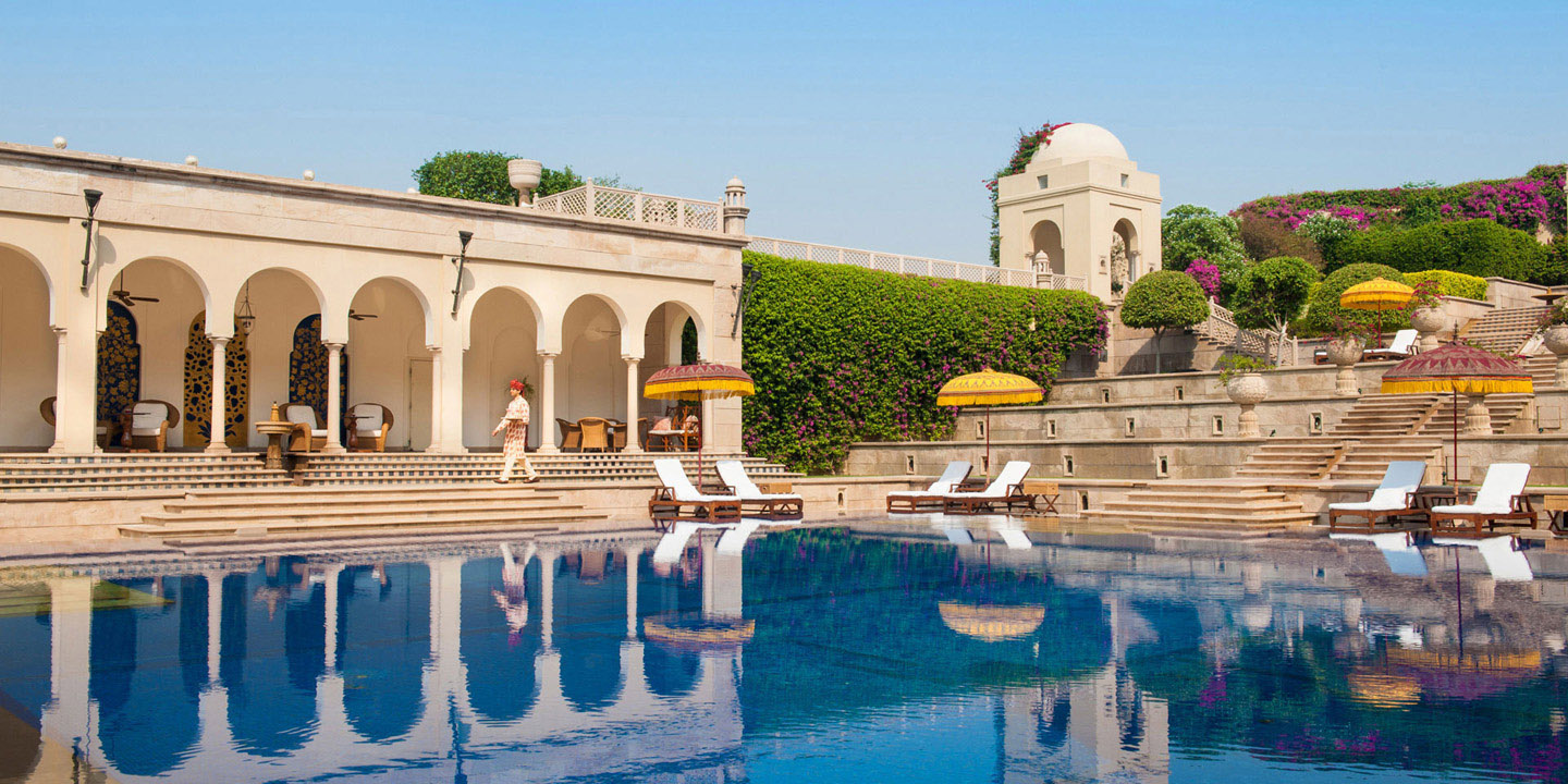Swimming Pool | The Oberoi, Amarvilas - Luxury Hotels in Agra