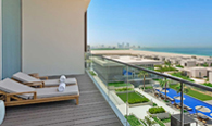 Kohinoor Suite with Private Terrace at The Oberoi Beach Resort, Al Zorah