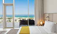 Premier Suite with Private Terrace at The Oberoi Beach Resort, Al Zorah