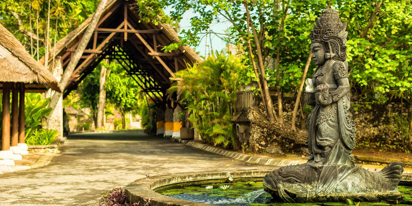 Entrance of The Oberoi, Bali