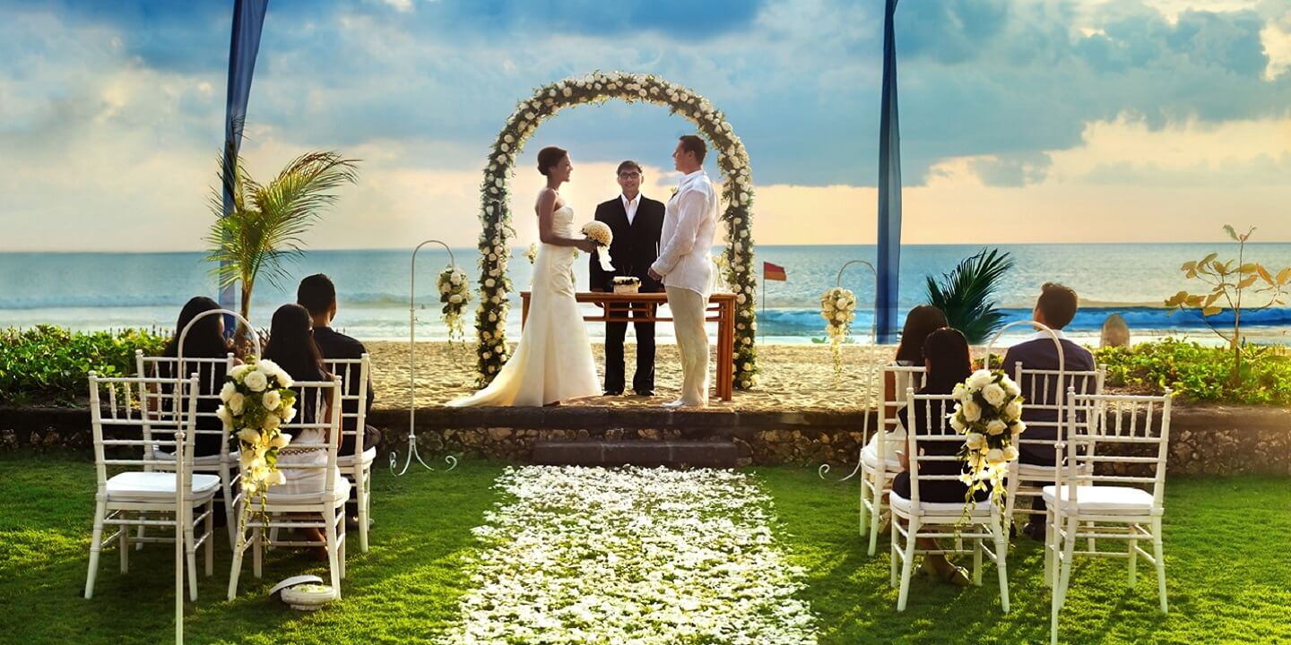 Sea side Wedding Venues at The Oberoi, Bali
