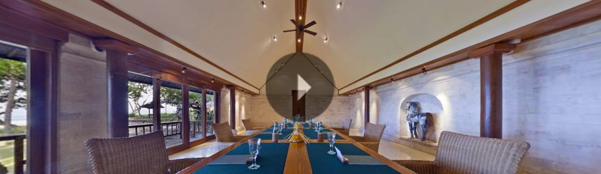 Take a 360° View of The Meeting Room at The Oberoi, Bali