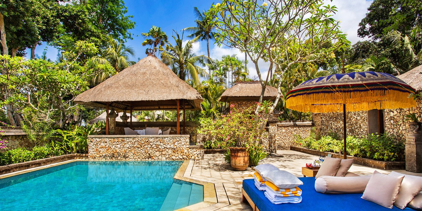 Villas with Private Swimming Pool at The Oberoi, Bali