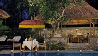 Exotic Candlelight Dinner Under The Stars Viewing Indian Ocean at Oberoi, Bali