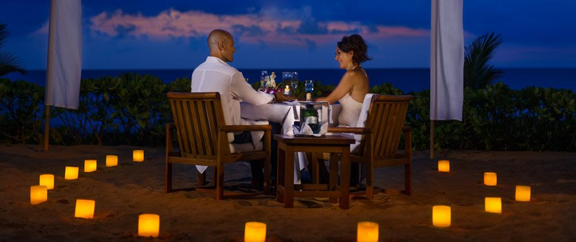 Candlelight Dinner Under The Stars, Serenaded by The Sound of Soft Balinese Instruments & Crashing Waves - The Oberoi, Bali
