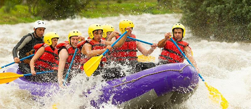 White Water Rafting at The Oberoi, Bali