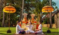 Renewing your vows at The Oberoi Bali